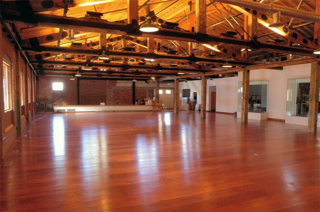New Floor Renovation at the Laurel Packing House in Kelowna BC